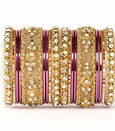 Buy Purple zircon   enamel bangles and bracelets bangles-and-bracelet online