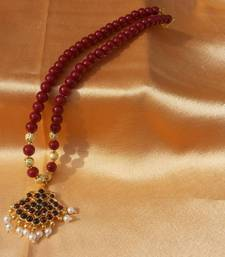 Buy Red Stone Necklace Necklace online