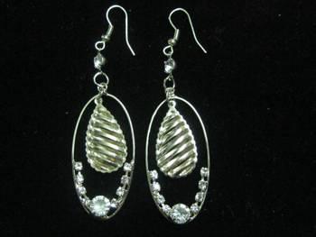 Lovely long trendy earrings