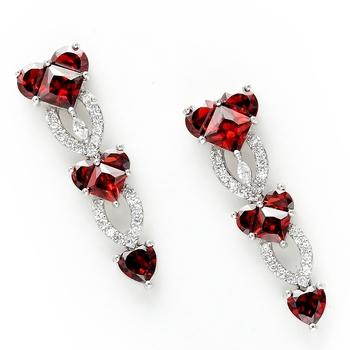 Bohemian Style Zirconia Earrings