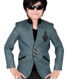 Buy Grey jacket suits for kids boys-indo-western-dress online