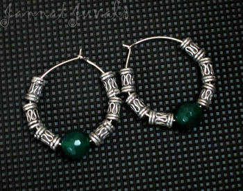Cute Green Earrings