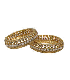 Buy White gold plated bangles and bracelets bangles-and-bracelet online