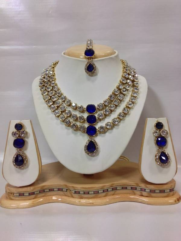 Blue Jewellery – Buy Blue Colour Jewellery Sets Online For Women ...