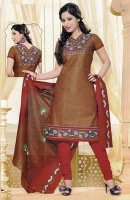 Dress Material Elegant Cotton Printed Unstitched Salwar Kameez Suit D.No M1610