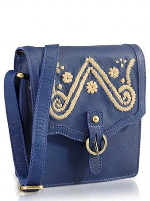 Phive Rivers - AKUTI, Genuine leather beautifully designed Cross body bag .