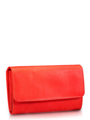 """Phive Rivers-Grania , Genuine Leather Women Wallet with colour : """"Red"""""""
