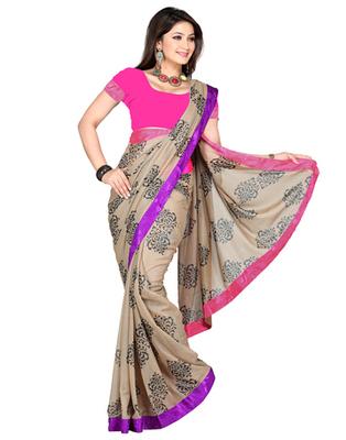 Dealtz Fashion Shimmer Saree