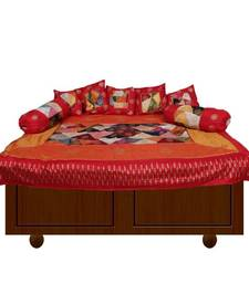 Buy Silk Patches Diwan Set other-home-furnishing online
