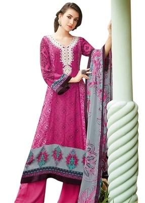 Triveni Classy Embroidered Neck Designed Salwar Salwar Kameez TSFLSK6340A