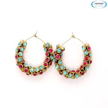 Fancy fashion diamond earrings