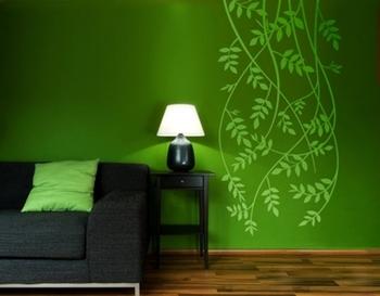 Modern Vine wall decal
