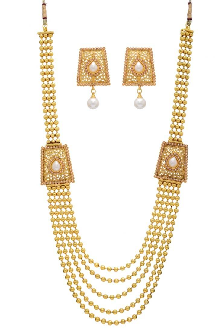 buy of at set marvelous necklace picture white golden
