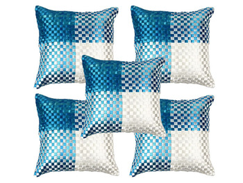 Mat Weave Cushion Cover- set of 5