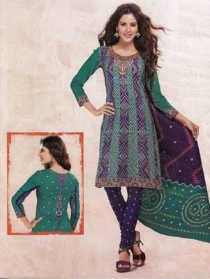 Dress material cotton designer prints unstitched salwar kameez suit d.no 4415