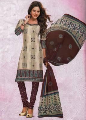 Dress material cotton designer prints unstitched salwar kameez suit d.no 4424