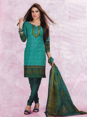 Dress material cotton designer prints unstitched salwar kameez suit d.no 4425