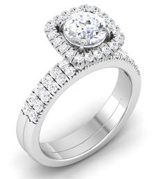 Buy Signity Sterling Silver Nitisha Ring engagement-ring online