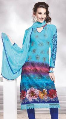 Cotton Embellished Salwar kameez Dress Material SC8140A