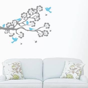 Happiness Birds On A Branc- wall art