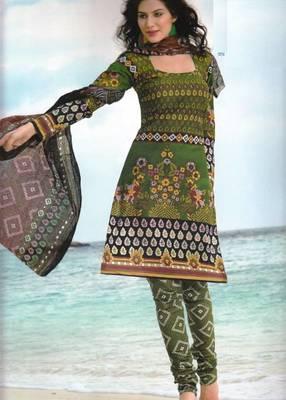 Dress material cotton designer prints unstitched salwar kameez suit d.no PA10049