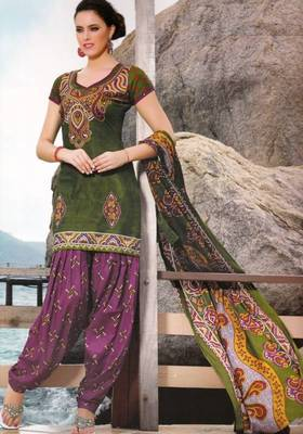 Dress material cotton designer prints unstitched salwar kameez suit d.no PA10059