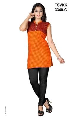 Triveni Fancy comfortable cotton printed Kurti 3340c