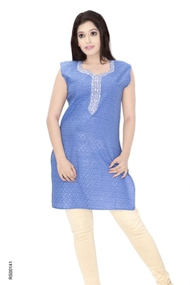 Triveni Fancy Casual Wear  Summer Cotton Kurti 009e