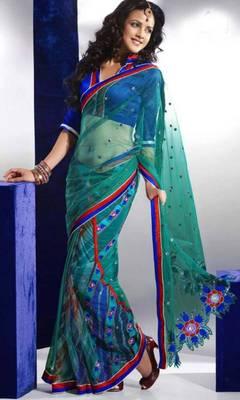 Full Net Designer Saree
