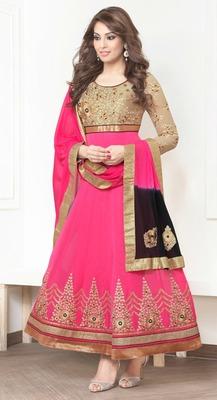 Designer Floor Lenth Designer Aanarkali Suit
