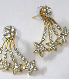 Buy Golden Star Shape Stone Kaan Earring ear-cuff online