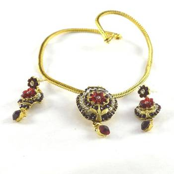 hm Colourfull necklace with earing