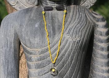Sunshine yellow spectacle chain