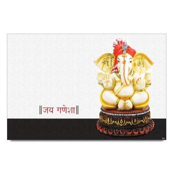 Lord Ganesha Statue Poster