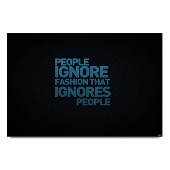 Fashion Quote Poster