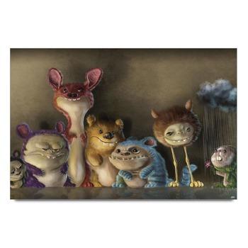 Fantasy Creatures Poster
