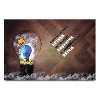 Ideas Imagination Quote Poster
