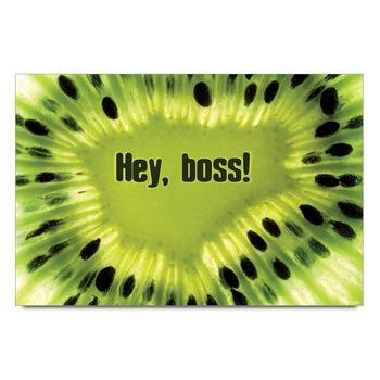 Hey Boss Poster
