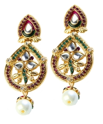 Dealtz Fashion Vibrant Shine Festive Earrings