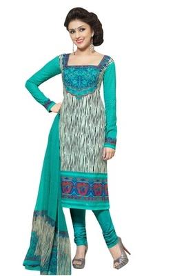 Triveni Noticeable Printed Cotton Salwar Kameez TSXBZSK7356A