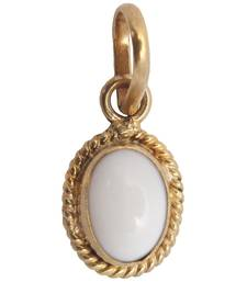 Buy 6ct white opal panchdhatu pendant gifts-for-husband online