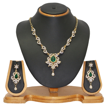 Jewellery Indian Fashion Necklace Set Jewelr
