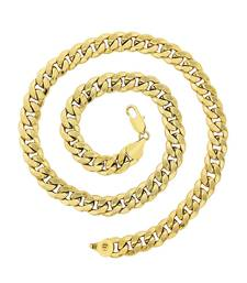Buy BeBold Gold Stainless Steel Gold Plated Link Stylish Chain for Boys and Men Other online