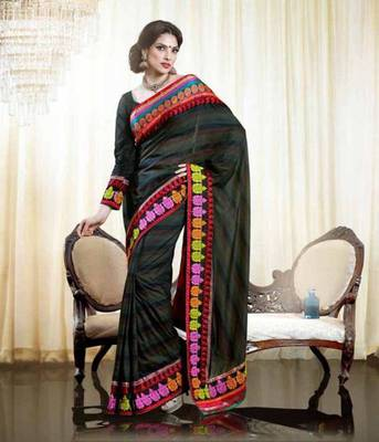 Georgette Saree  MN-2409