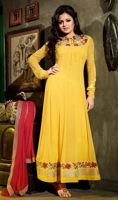Madhubala Awesome long Anarkali Suit