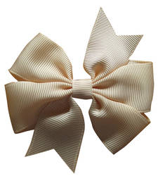 Buy Soothing White Double Bow Hair Accessory for Baby Girls in India hair-accessory online