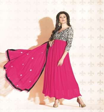 Sushmita Sen Party Wear Designer Anarkali