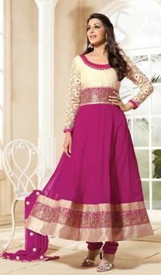 Sonali Bendre Fashionable Designer Long Anarkali