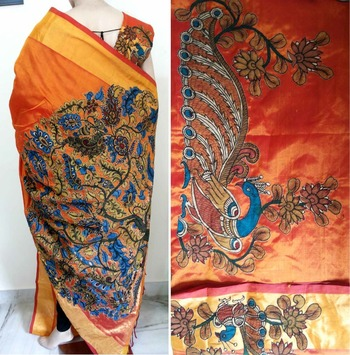 pen kalaMKARI SAREE