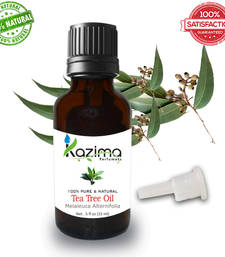 Buy Tea tree essential oil (15ml) 100% pure natural and undiluted oil essential-oil online